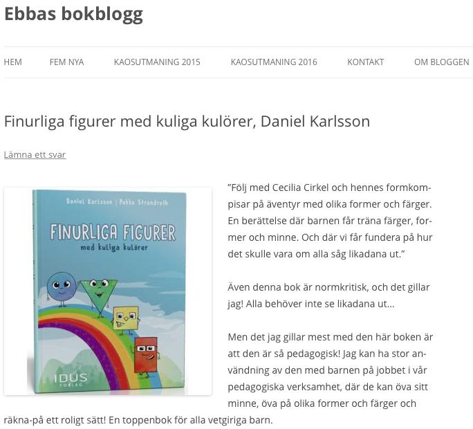 finurliga figurer barnböcker barnbokstips